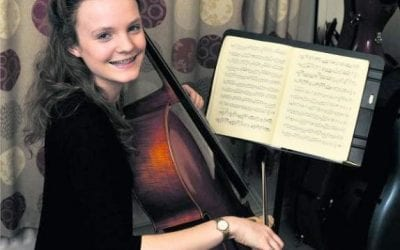 Hilperton cellist strikes right chord